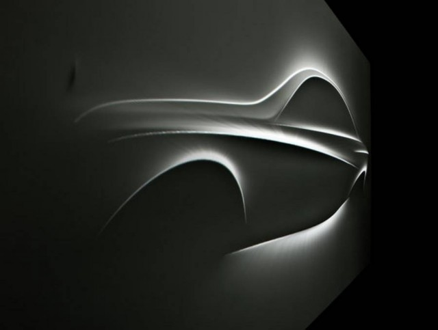 Mercedes-Benz Aesthetics S sculpture