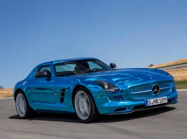 Mercedes-Benz SLS AMG Electric Drive (5)