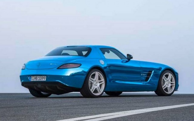 Mercedes-Benz SLS AMG Electric Drive (4)