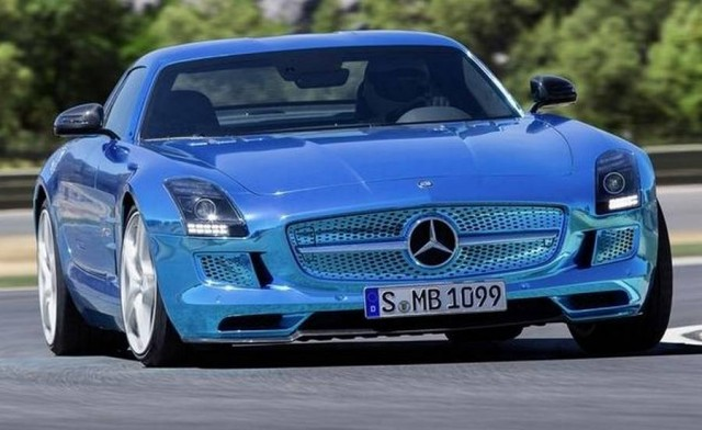 Mercedes-Benz SLS AMG Electric Drive (2)