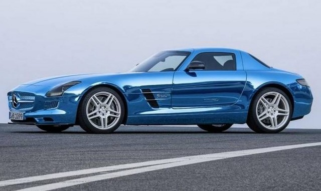 Mercedes-Benz SLS AMG Electric Drive (1)