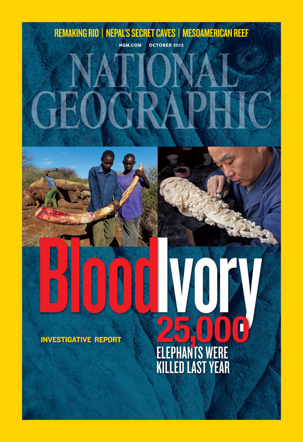 October 2012 issue of National Geographic