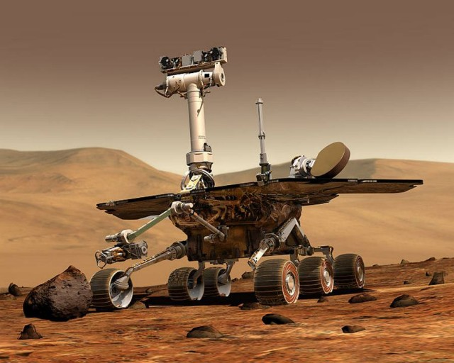 Opportunity finds Mysterious Martian Spheres