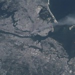 New York on September 11, 2001 from ISS