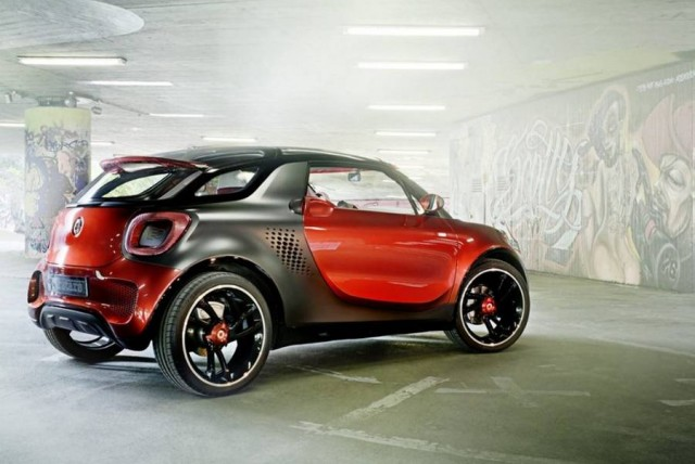 Smart Forstars Electric concept car (1)