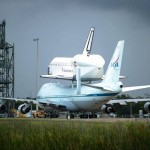 Endeavour atop NASA's Shuttle Carrier Aircraft [updated...