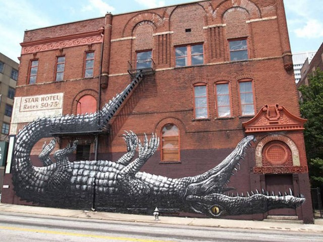 Street Art Murals- Atlanta, USA