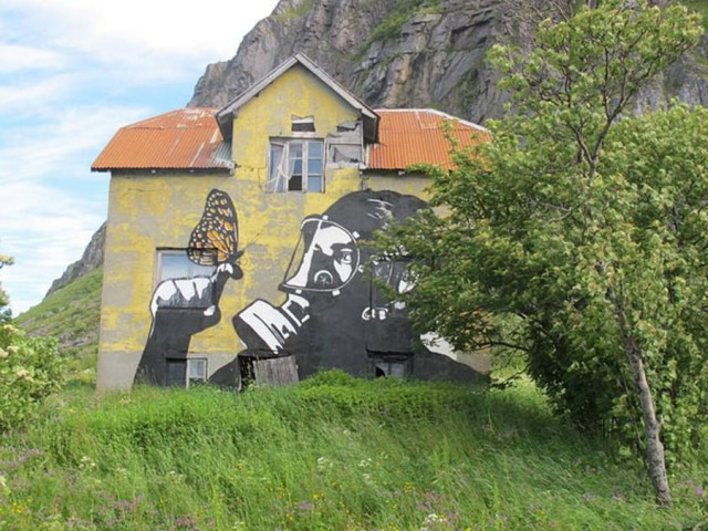 Street Art Murals- Lofoten, Norway