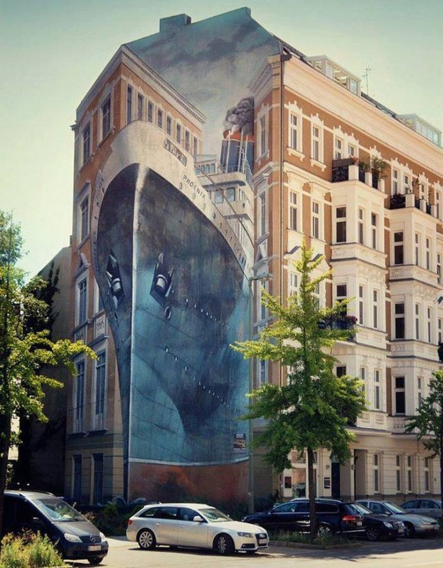 Street Art Murals- Berlin, Germany