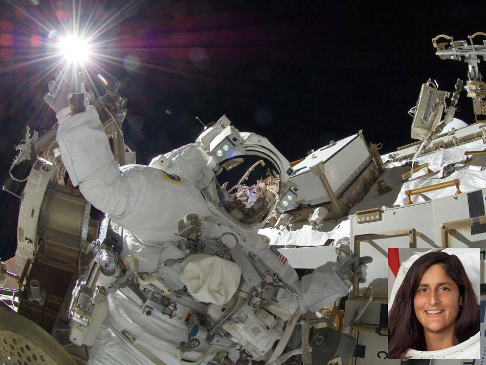 astronauts sunita williams - photo #24
