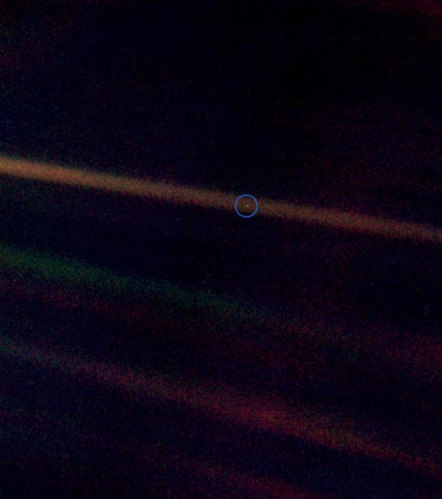 Earth, The Pale Blue Dot