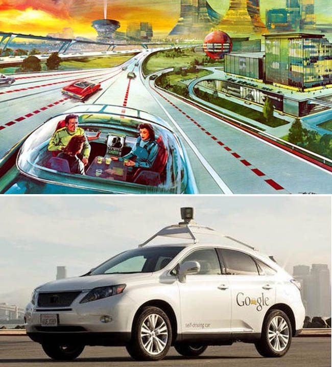 The future is Here, Self-Driving Cars now Legal in California