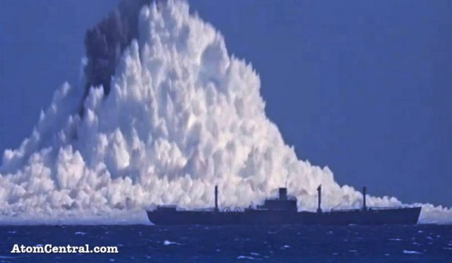 The power of Underwater Nuclear Burst (3)