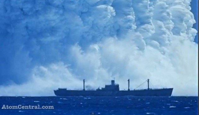 The power of Underwater Nuclear Burst (1)