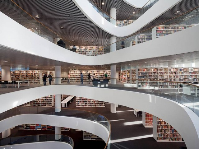 University of Aberdeen new Library by Schmidt Hammer Lassen architects