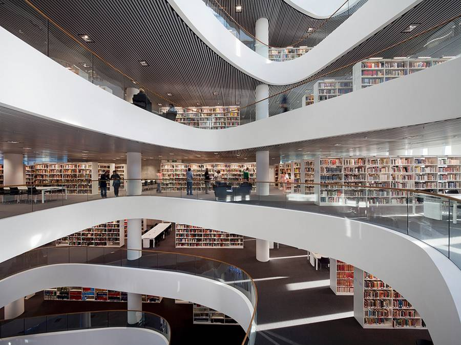 University of Aberdeen new Library by Schmidt Hammer Lassen architects (12)