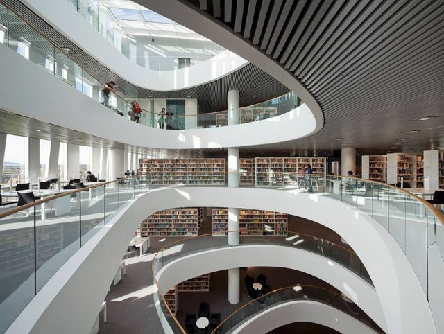 University of Aberdeen new Library by Schmidt Hammer Lassen architects (2)