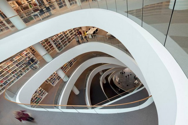 University of Aberdeen new Library by Schmidt Hammer Lassen architects (7)