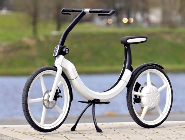 VW folding electric bik.e