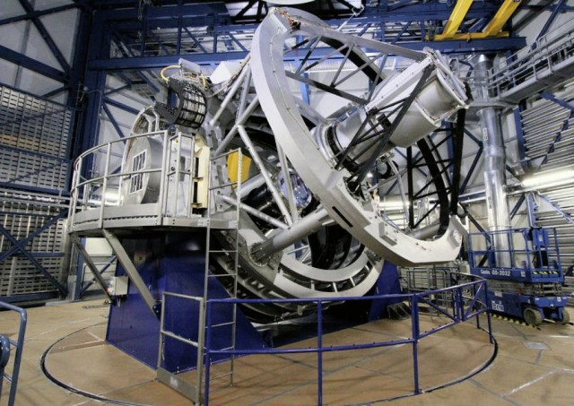 VISTA infrared survey telescope at ESO's Paranal Observatory