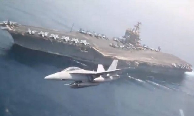 Aircraft Carrier touch and go (2)