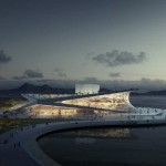 Busan Opera House competition has been won by Snohetta