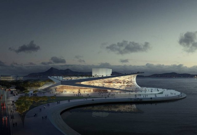 Busan Opera House competition has been won by Snohetta (3)