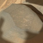 Close-up of 'Bathurst Inlet' Rock by Mars Curiosity