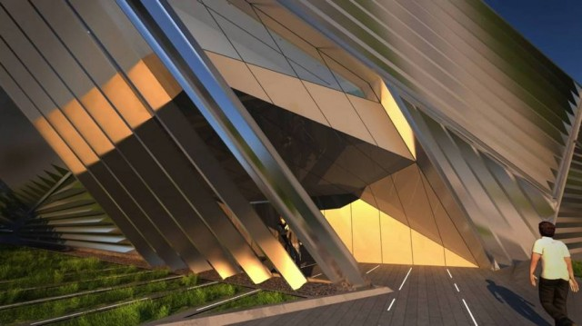 Eli and Edythe Broad Art Museum by Zaha Hadid (5)