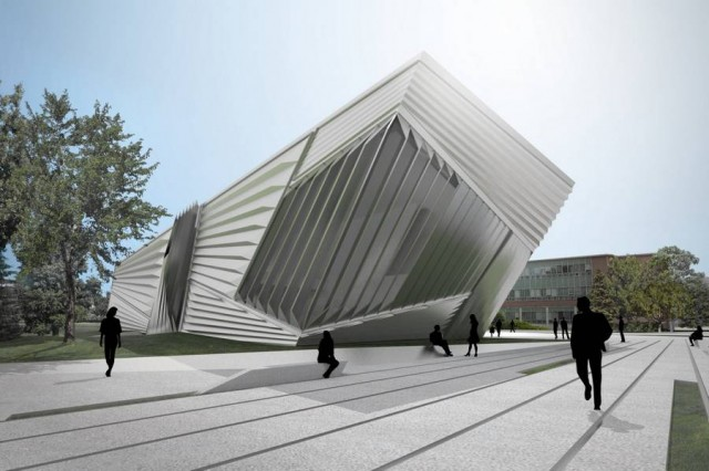 Eli and Edythe Broad Art Museum by Zaha Hadid (3)