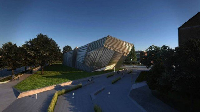 Eli and Edythe Broad Art Museum by Zaha Hadid (2)