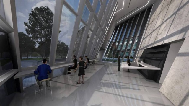 Eli and Edythe Broad Art Museum by Zaha Hadid (1)