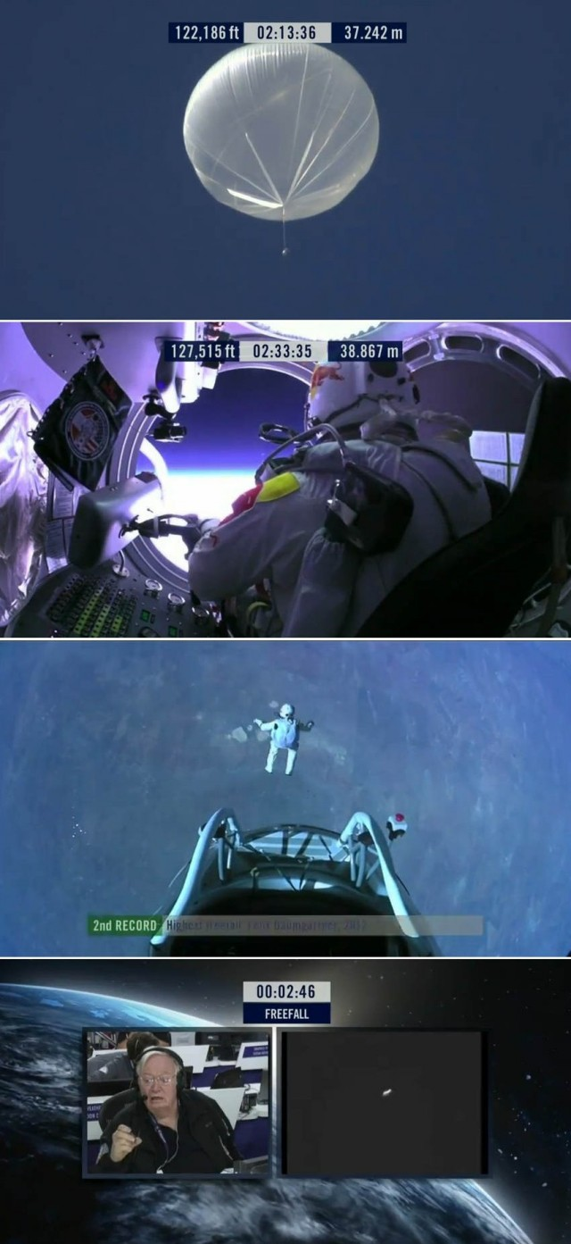 First man to break the Speed of Sound in Freefall