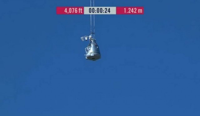 First man to break the Speed of Sound in Freefall (47)