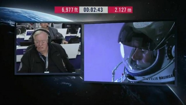 First man to break the Speed of Sound in Freefall (45)