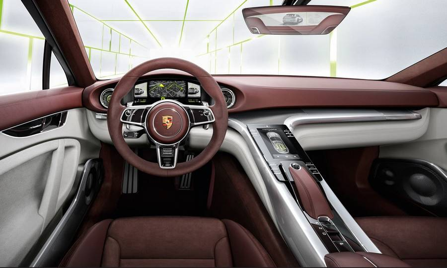 Futuristic Cars Interior