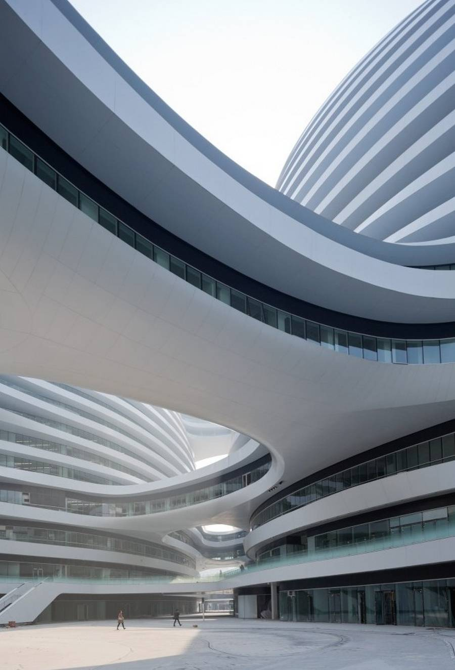 Galaxy Soho by Zaha Hadid completed (12)