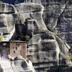 Hovering monasteries of Meteora