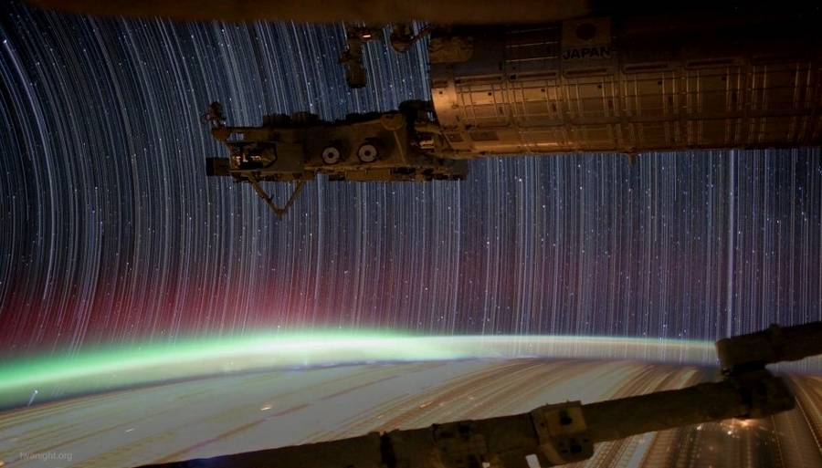ISS Startrails