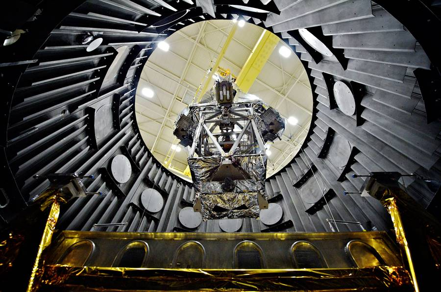 James Webb Space Telescope gets Chilled in Goddard Space Flight Center