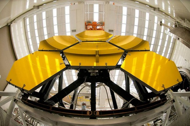 James Webb Space Telescope, the mirrors undergo cryo testing at NASA Marshall.