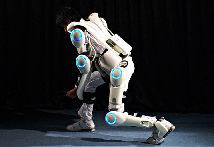 Mind-Controlled Robot Exoskeleton