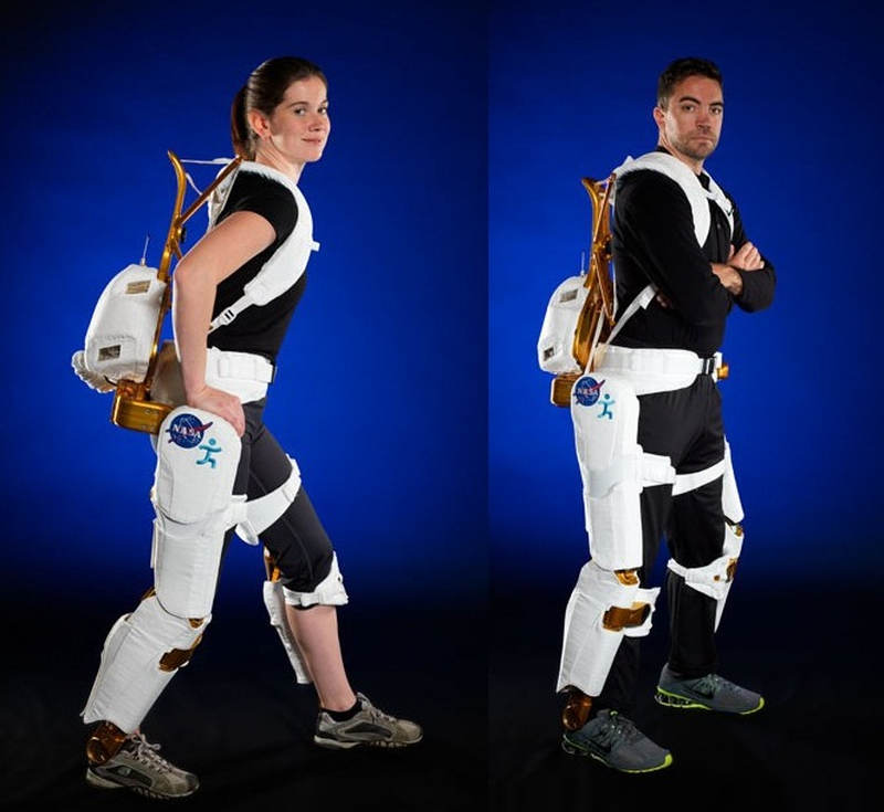 NASA's Ironman-Like Exoskeleton