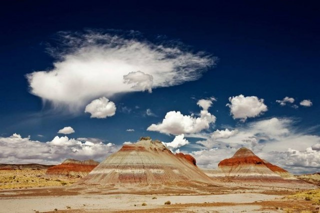 Painted Desert in Arizona's Petrified Forest National Park