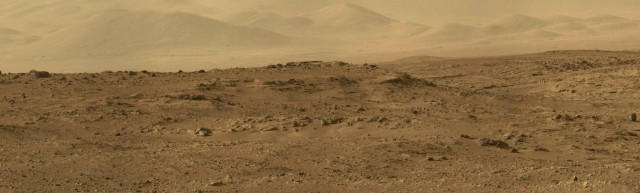 Panorama from Mars Alien world by Stuart Atkinson