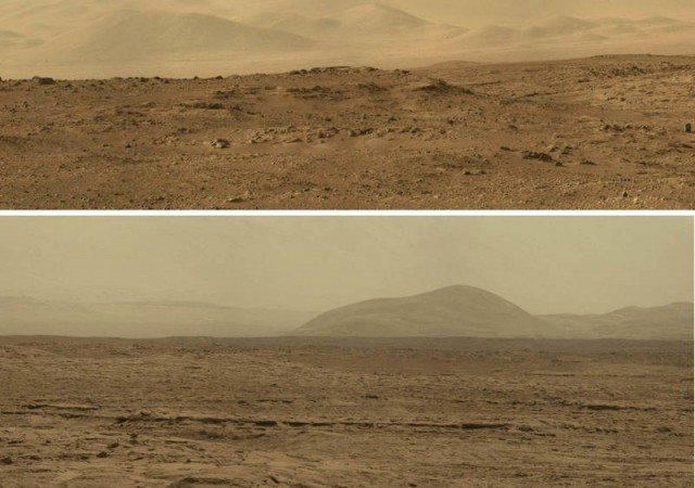 Panorama from Mars Alien world