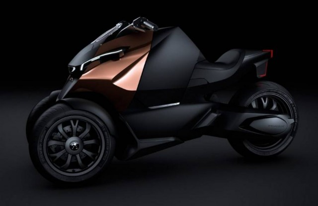 Peugeot Onyx Scooter concept
