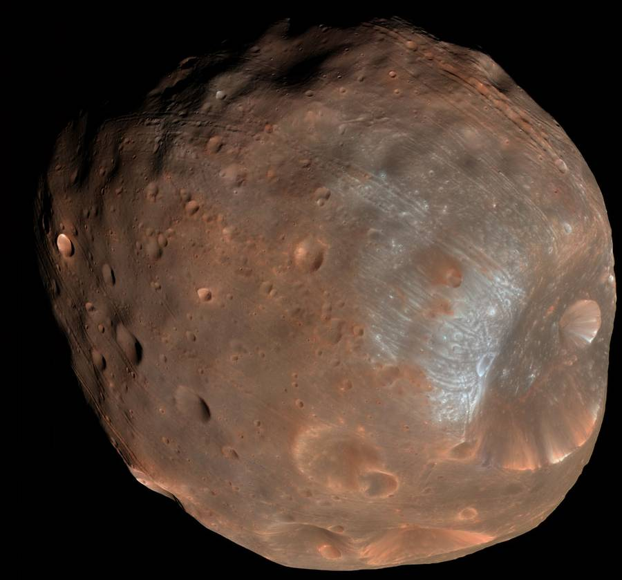 Phobos Moon of Mars