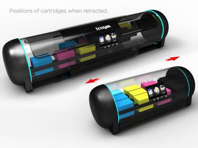 Retractable Printer concept (3)