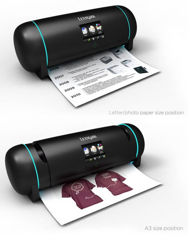 Retractable Printer concept (2)